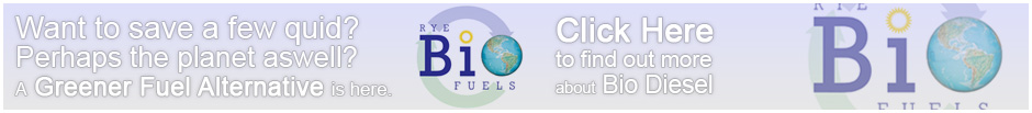 Rye Bio Fuels - Save a few quid, convert to bio diesel. The green fuel alternative